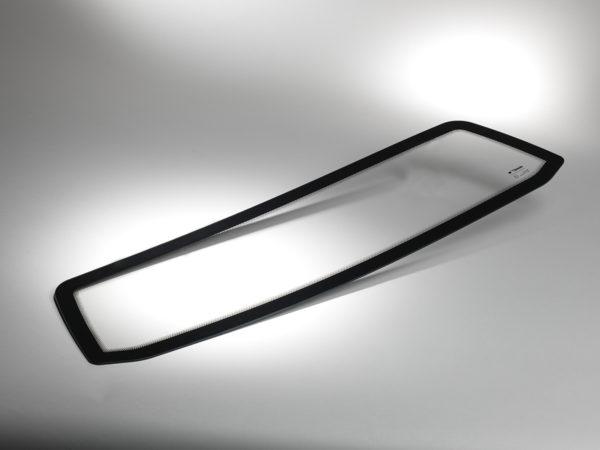 La grande souplesse des vitrages en polycarbonate Cleargard pour automobile permet de réaliser des designs et des formes complexes.