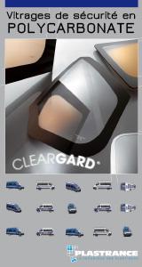 Télécharger la documentation technique de Cleargard, vitrage de sécurité pour les véhicules des forces de l'ordre.