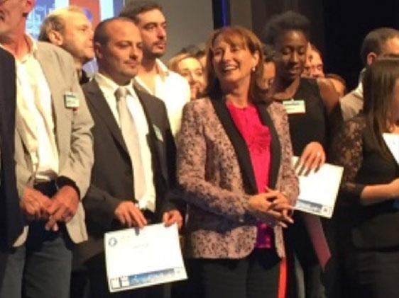 Le projet de thermodrapage de Plastrance a été récompensé par la ministre Ségolène Royal lors du Programme d'Investissements d'Avenir 2016 de l'ADEME.