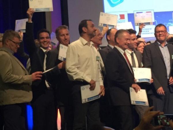 Grâce à son projet de thermodrapage, Plastrance est devenu lauréat du Programme d'Investissements d'Avenir du cluster Pôle Véhicule du Futur.