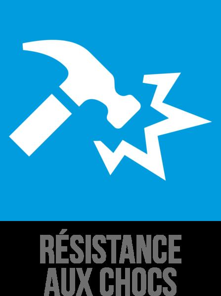 Résistance aux chocs des vitrages de sécurité Cleargard